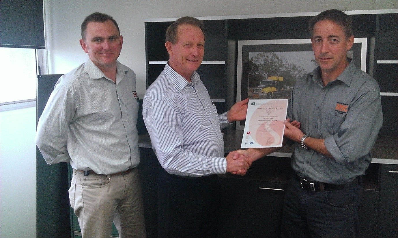 NQ Group achieves new ISO Quality Certification