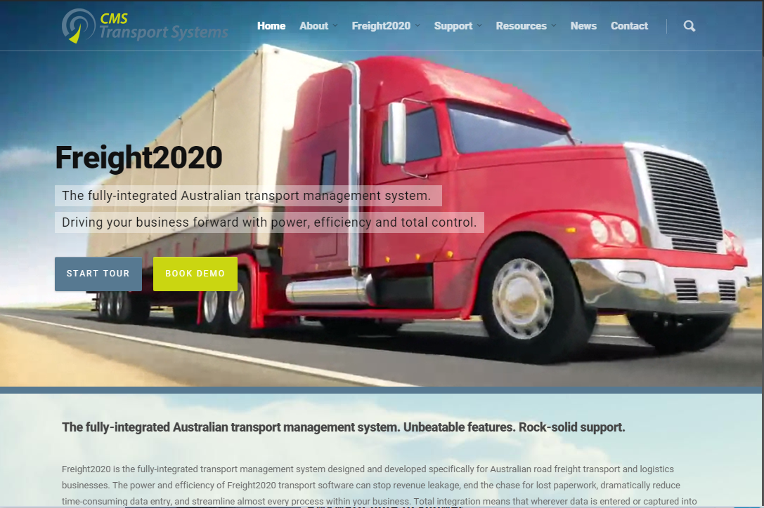 New Freight2020 website