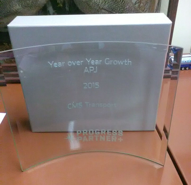 Fastest-Growing Partner 2015 award