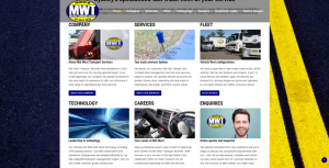 MId West Transport Services website