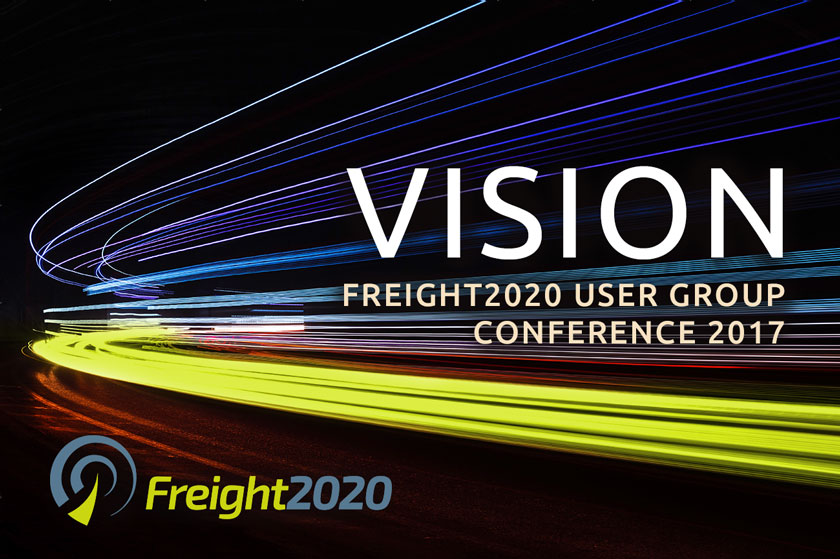 Introducing VISION - the Freight2020 user group conference