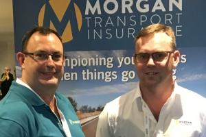 Jim Morgan, Morgan Transport Insurance